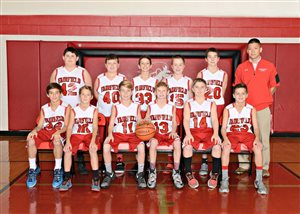 Fairfield 7th graders 2nd in SHAC Div. II