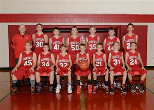 Lions 8th graders earn 2nd place in SHAC Div. II