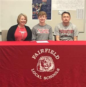 Matthew Mangus signs with Division I Youngstown State cross-country