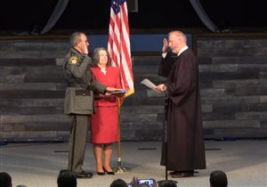 Vernon Stanforth sworn in as 80th president of National Sheriffs' Association